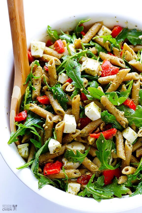 Basil pesto salad recipes