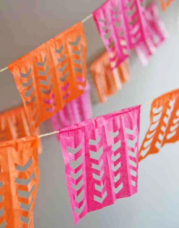 DIY Cinco De Mayo Garland | Lovely Indeed