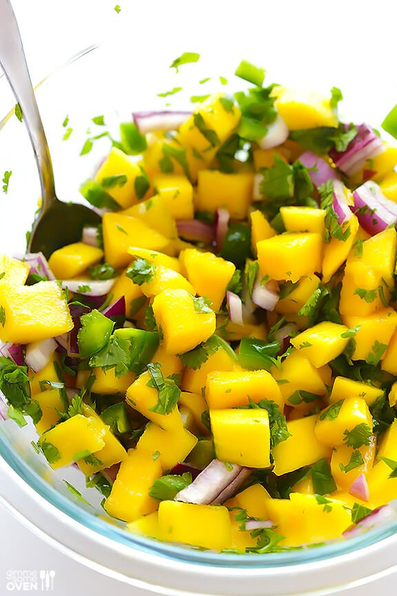 How To Make Mango Salsa Recipe