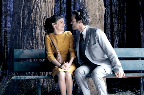 Audrey Tautou and Romain Duris in Michel Gondry's Mood Indigo.