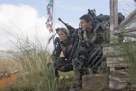 Doug Liman's Edge of Tomorrow starring Emily Blunt and Tom Cruise | Photo by David James - © 2013 -- Warner Bros. Entertainment Inc