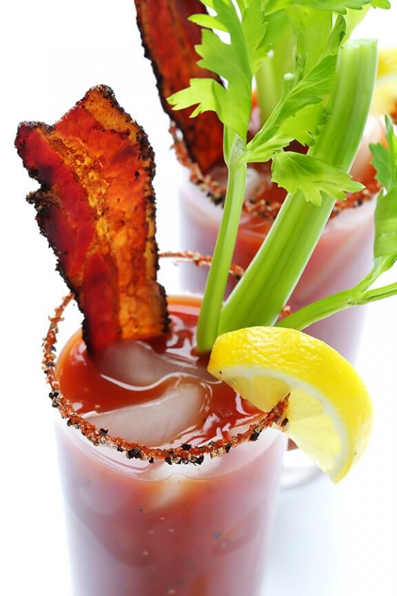 Peppered Bacon Bloody Mary | Gimme Some Oven