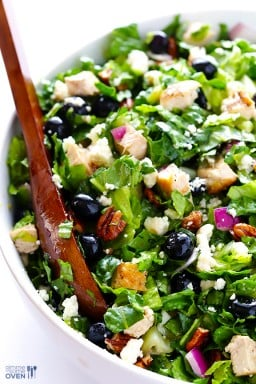 Blueberry Chicken Chopped Salad {Gimme Some Oven}