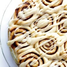 Brown Butter Cinnamon Rolls | gimmesomeoven.com #breakfast