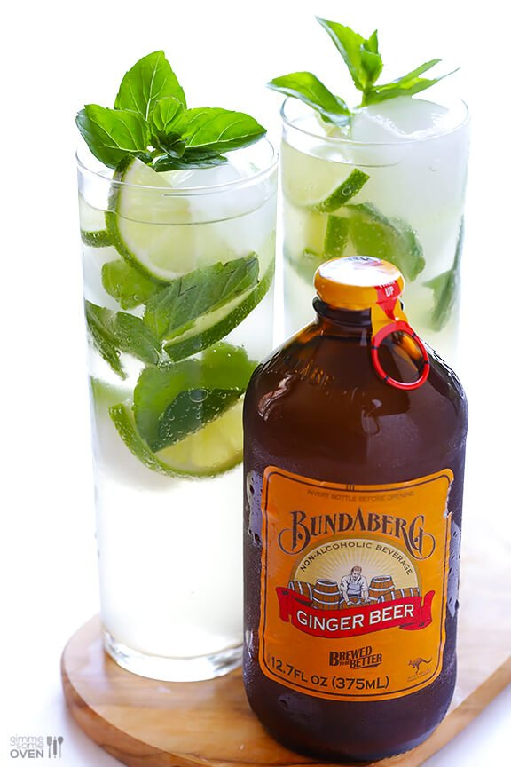 Ginger Beer Mojitos 9