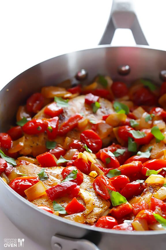 Easy Italian Chicken Skillet