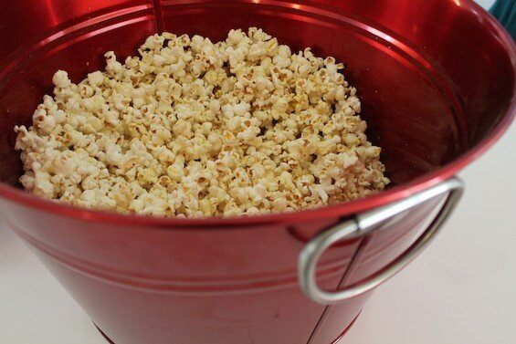 Movie Nights: Make popcorn