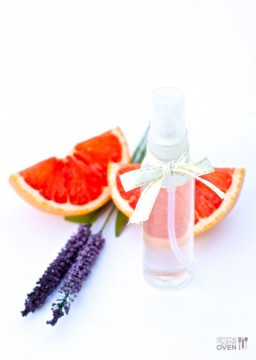DIY Grapefruit-Lavender Body Spray {Gimme Some Oven}