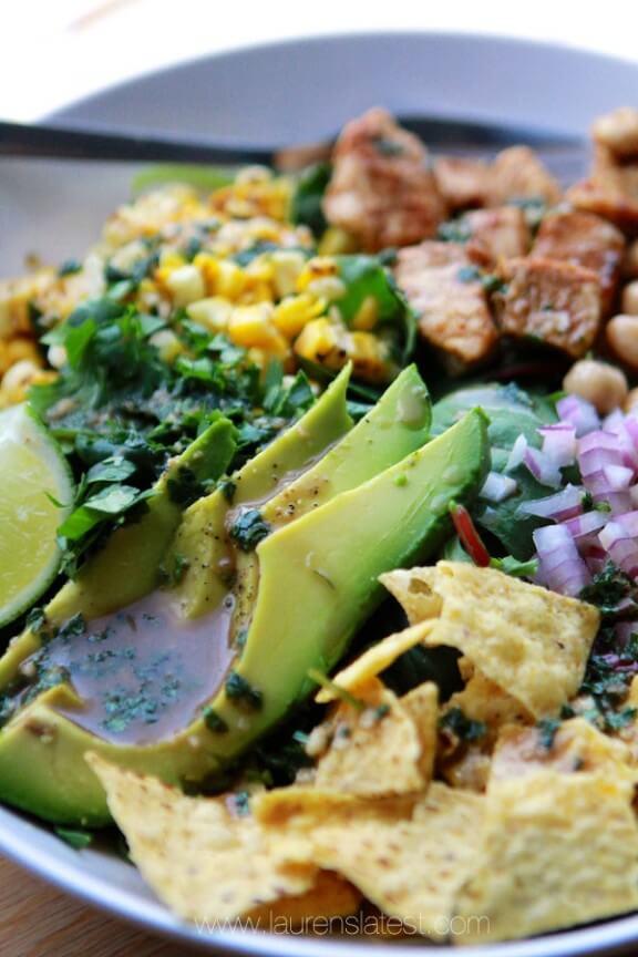 Super Greens Southwest Kale Salad   Lauren's Latest