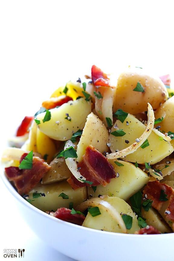 German Potato Salad | gimmesomeoven.com