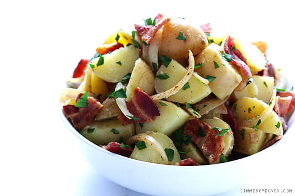 German Potato Salad | gimmesomeoven.com