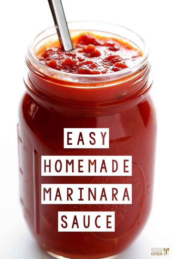Homemade Marinara Sauce -- delicious marinara is so easy to make with ...