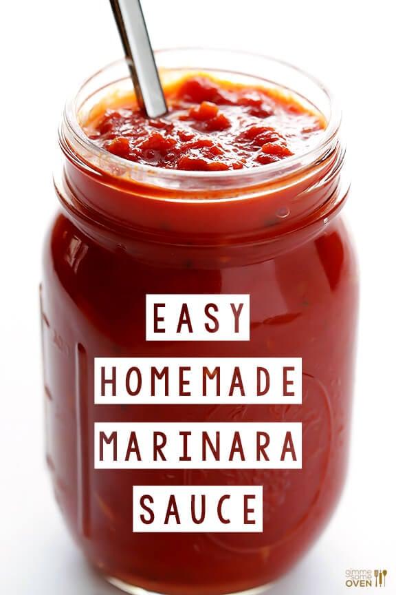 Recipes for marinara pasta