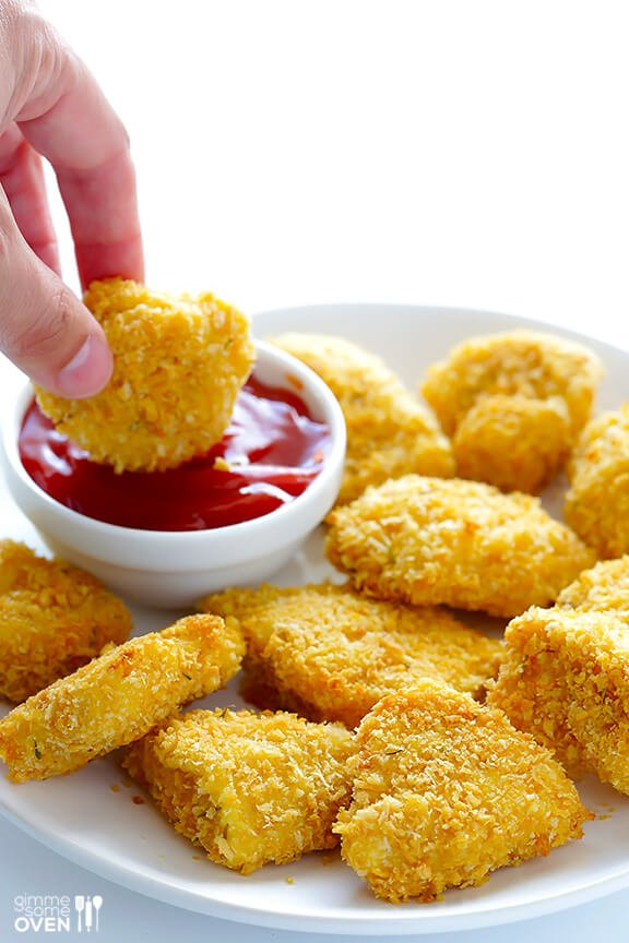 Parmesan Baked Chicken Nuggets | Easy Dinner Recipes For Kids Every Mom Should Know | easy kid friendly dinner recipes