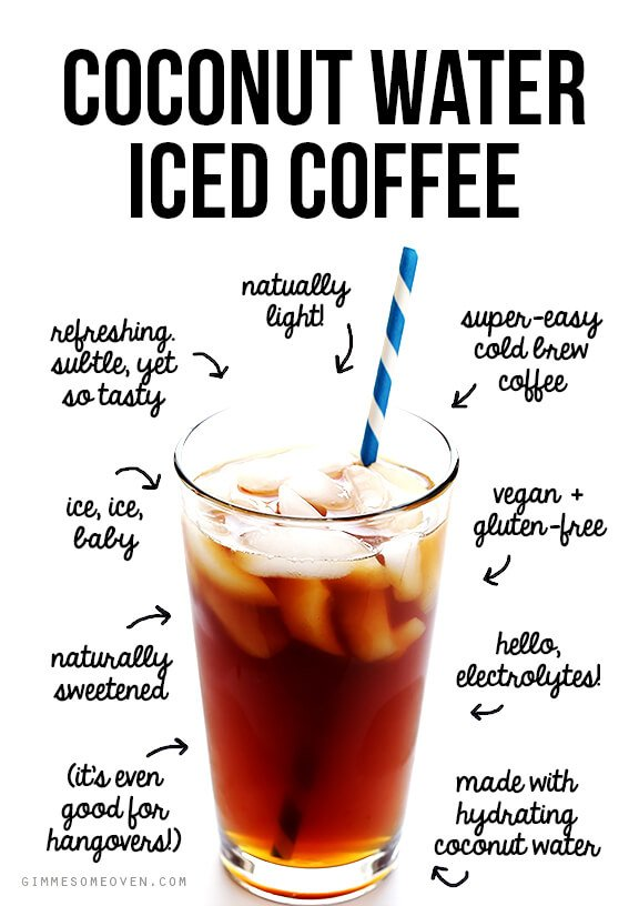 Coconut Water Iced Coffee 7