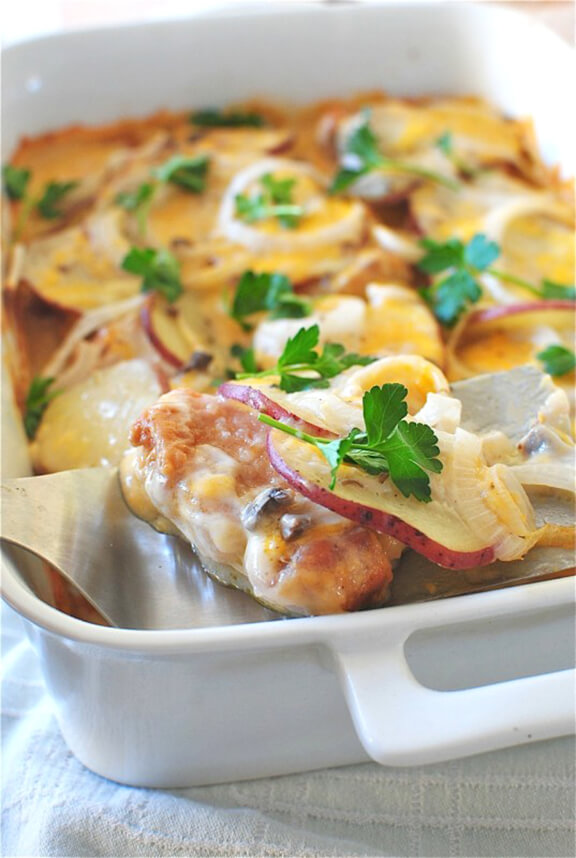 Pork Chop Casserole | bevcooks.com
