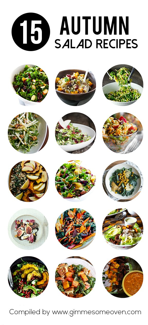 15 Amazing Autumn Salad Recipes Gimme Some Oven