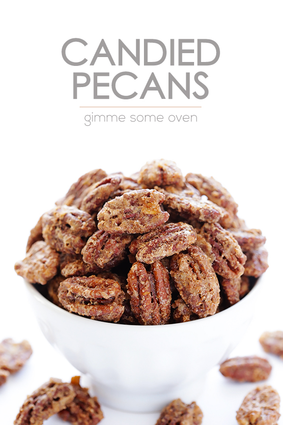 Candied Pecans -- all you need are 7 ingredients to make these ...