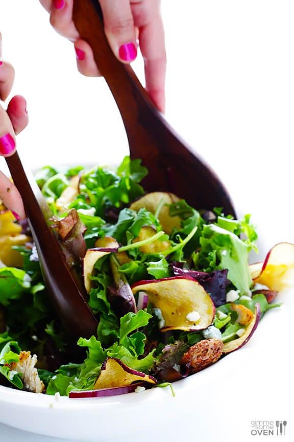 Fuji Apple Chicken Salad | gimmesomeoven.com