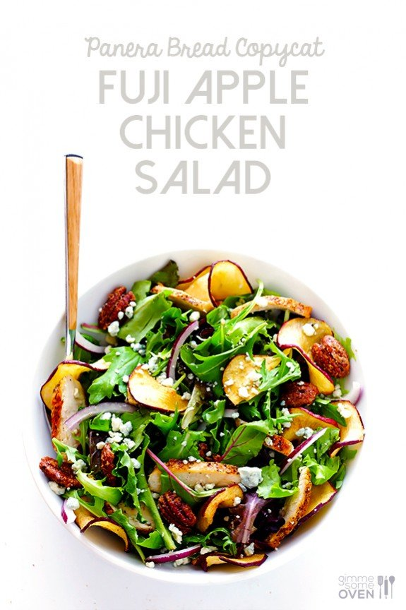 Fuji Apple Chicken Salad Panera Bread Copycat Gimme