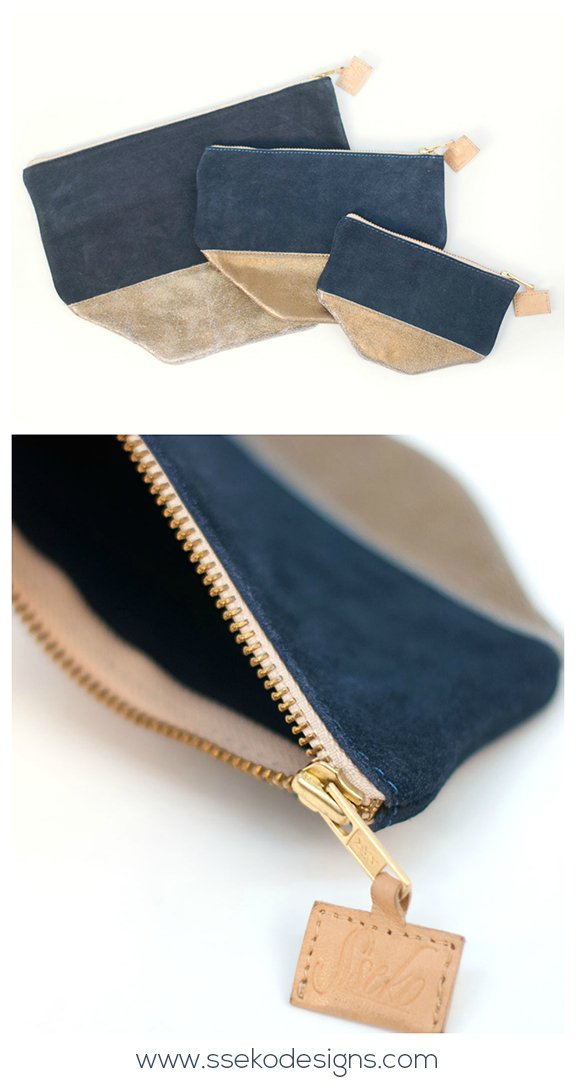 Dusty Midnight Clutch Set | ssekodesigns.com