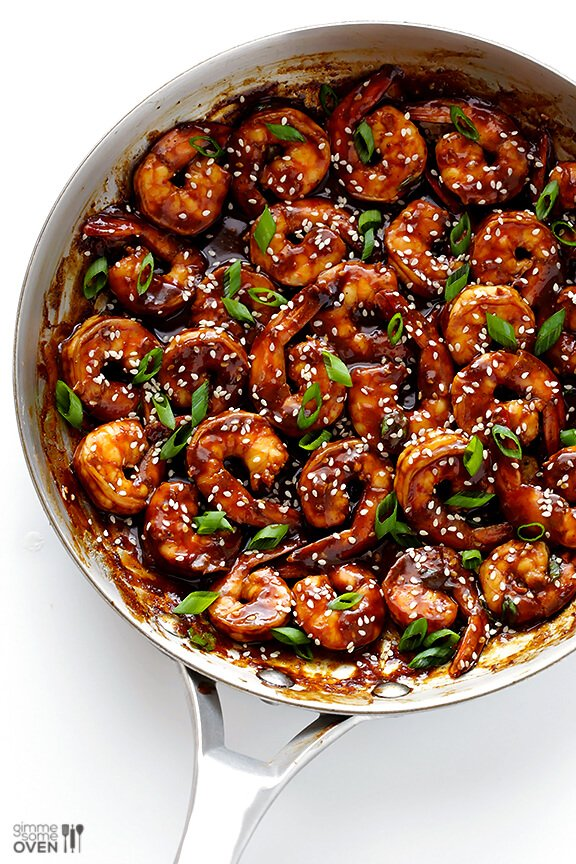 Easy hoisin shrimp gimme some oven What to make with shrimp for dinner