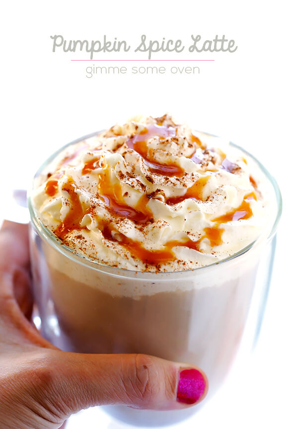 Pumpkin Spice Latte | Gimme Some oven