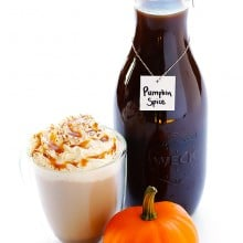 Pumpkin Spice Latte | gimmesomeoven.com