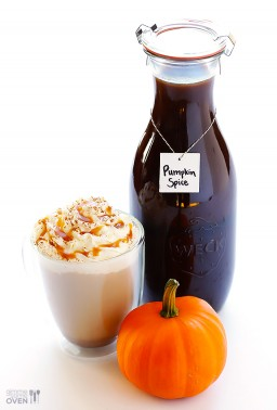 Pumpkin Spice Latte {Gimme Some Oven}