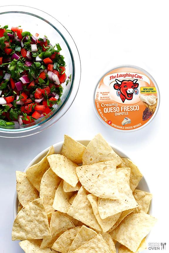 Pico Nacho Bites | gimmesomeoven.com #appetizer #snack