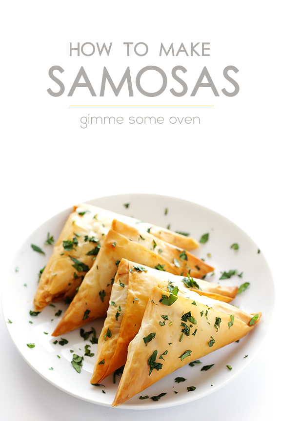 How To Make Baked Samosas (2 Ways!) | gimmesomeoven.com
