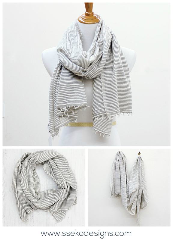 Jillian Scarf | ssekodesigns.com