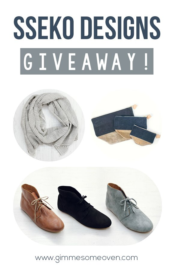 Sseko Designs GIVEAWAY! {Gimme Some Oven}