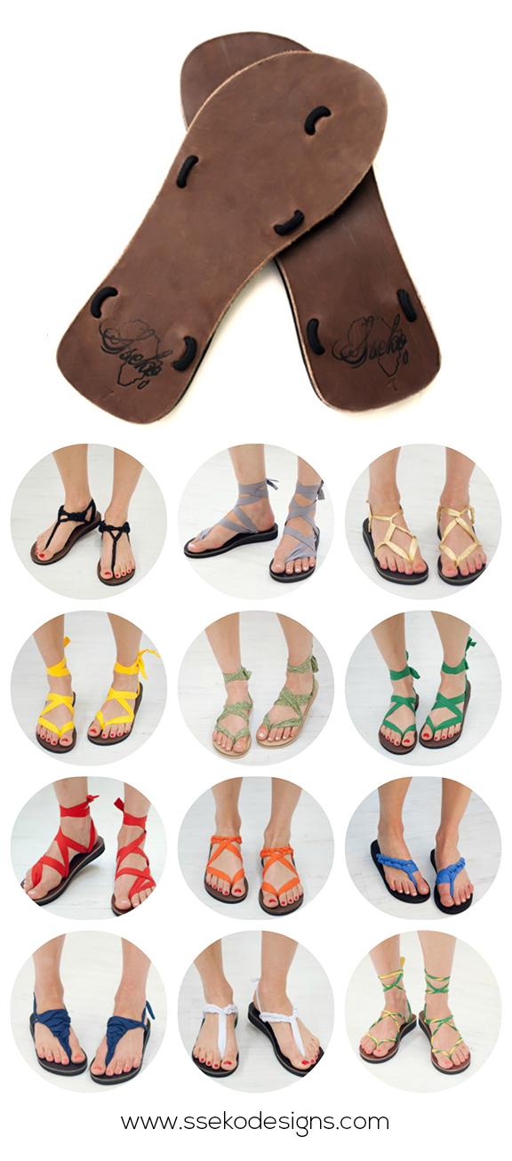 Sseko Sandals Collage