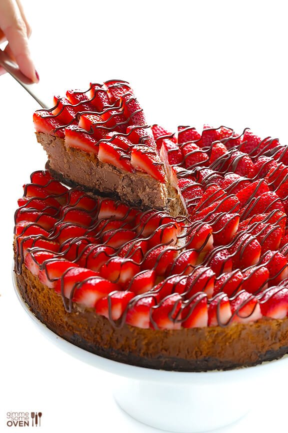 Strawberry Nutella Cheesecake Gimme Some Oven