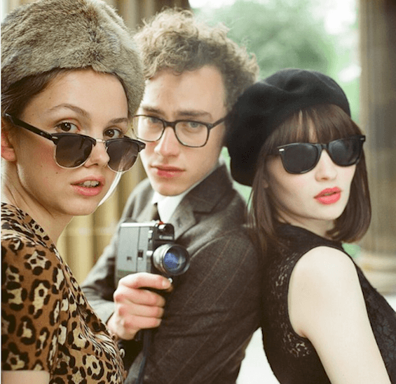 Hannah Murray, Olly Alexander, and Emily Browning in Stuart Murdoch's God Help the Girl. © Courtesy of Sundance Institute