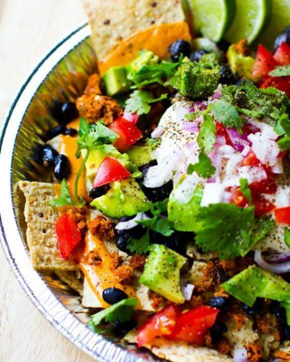 Vegan Nachos I kblog.lunchboxbunch.com
