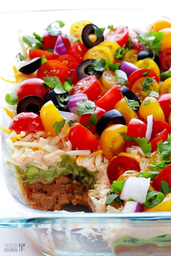 Seven Layer Taco Dip Recipes — Dishmaps