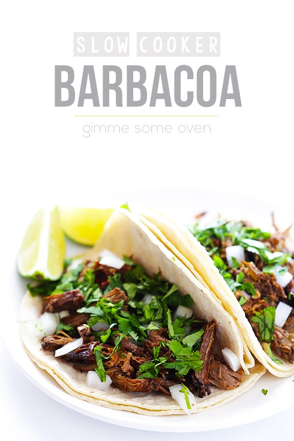 Barbacoa Beef -- tender, flavorful, and made extra easy in the slow ...