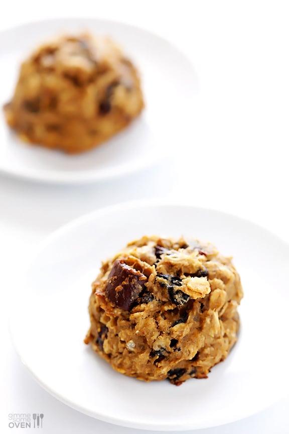 Breakfast Cookies | gimmesomeoven.com #seriouslydelish