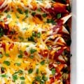 The Best Chicken Enchiladas Ever | gimmesomeoven.com