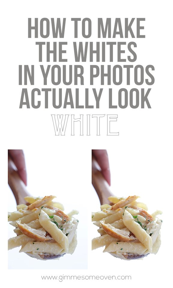 How To Make The Whites In Your Photos Actually Look White