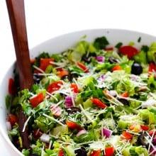 Pepperoni Italian Salad | gimmesomeoven.com