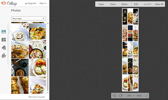 How To Make Quick, Easy and Free Photo Collages -- a step-by-step tutorial   gimmesomeoven.com
