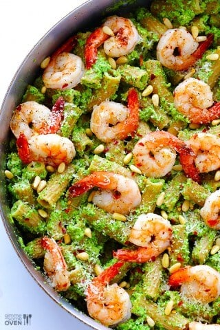 Shrimp-Pasta-with-Broccoli-Pesto-41