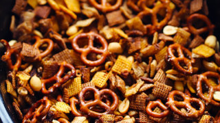 Slow Cooker Chex Mix | Gimme Some Oven