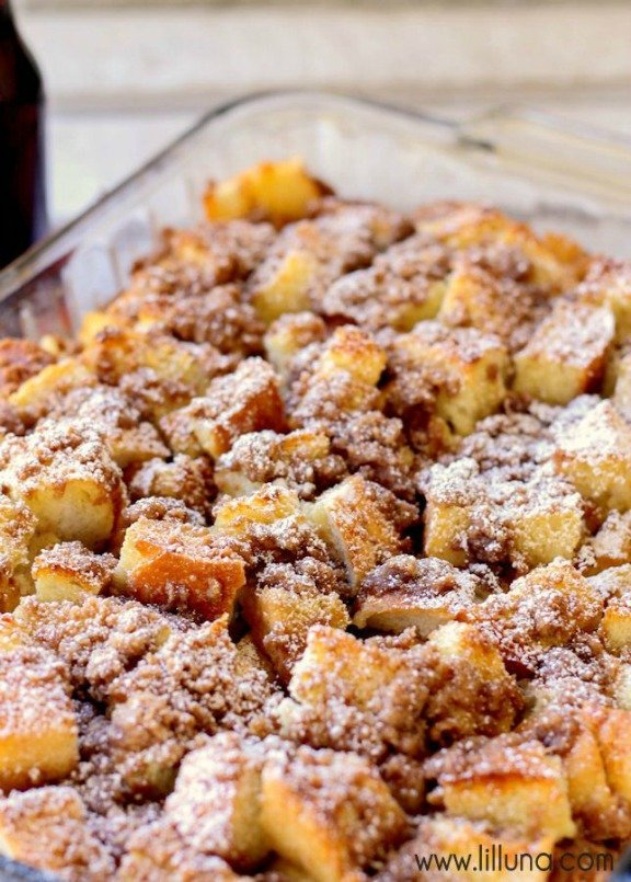 French Toast Bake   lilluna.com
