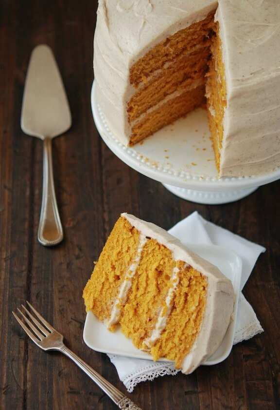 Pumpkin Cake And Semifreddo Push Pops