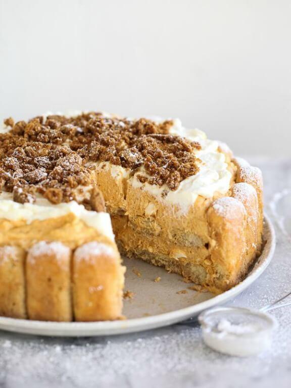 Pumpkin Tiramisu | foodiecrush.com