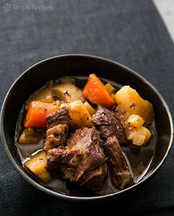 Slow Cooker Guinness Stew | simplyrecipes.com